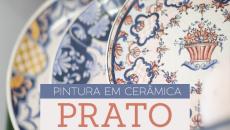 Pintura em Cerâmica - PRATO